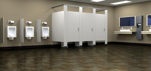 Egy rendezett, karbantartott közösségi WC