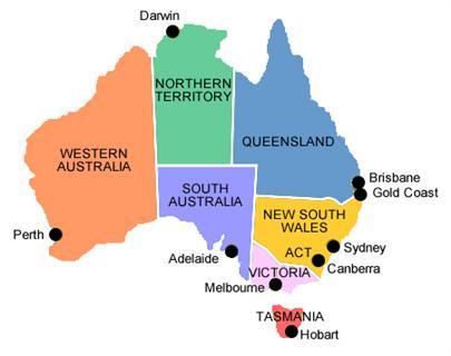 Các trường đại học tiêu biểu thuộc vùng regional Úc 2