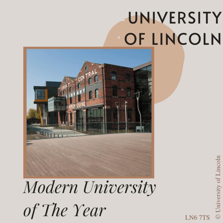 ĐẠI HỌC LINCOLN – MODERN UNIVERSITY OF THE YEAR