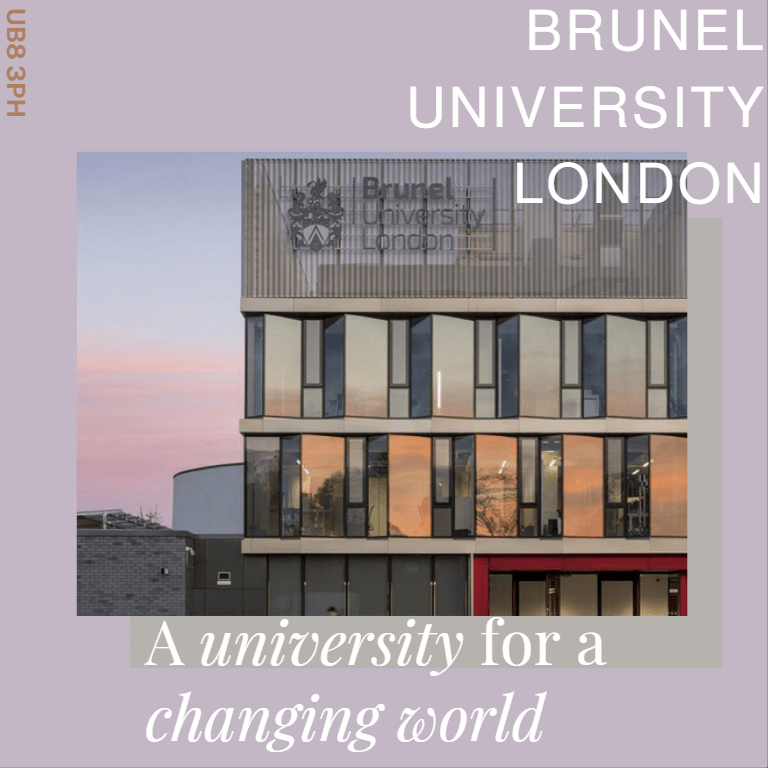 ĐẠI HỌC BRUNEL LONDON –   FOR A CHANGING WORLD