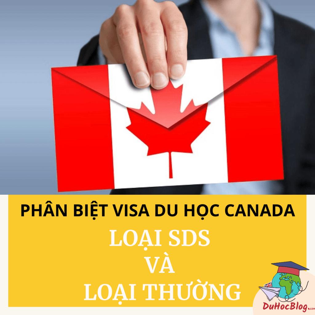 Phân biệt visa du học Canada: loại SDS và loại thường