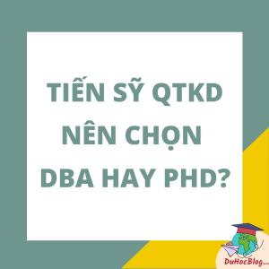 DBA hay PhD
