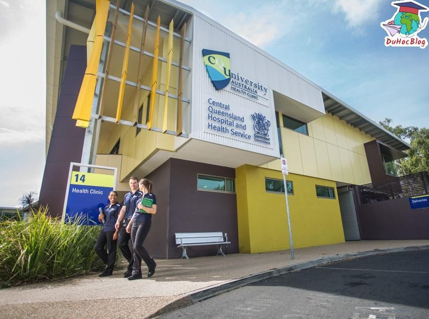 Học bổng Úc - Central Queensland