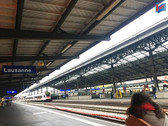 Một trạm dừng trên đường đến Luzern do INEC lưu lại