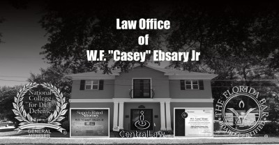 Law Office of W.F. ''Casey'' Ebsary Jr 2102 W Cleveland St Tampa, Florida 33606 (813) 222-2220 centrallaw@centrallaw.com