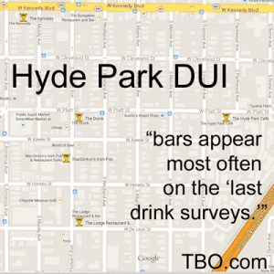 Hyde Park DUI Lawyer Which Bars are Cops Watching?
