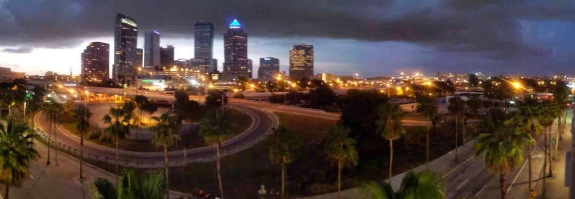 DUI Tampa City Skyline