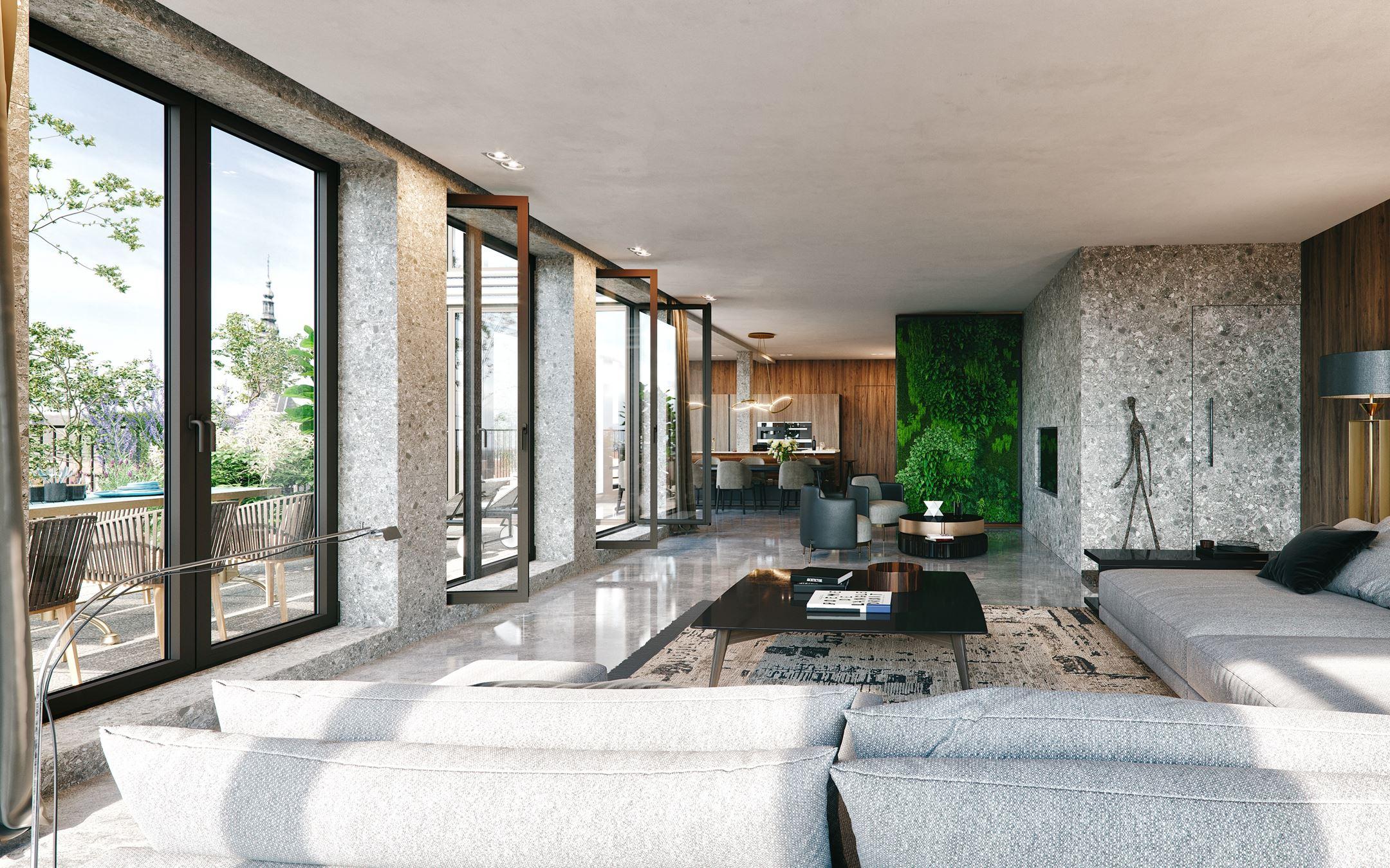 Mercado Groningen interieur impressie special appartement in italiaanse sfeer