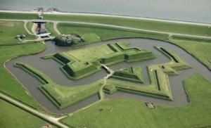 militaire kustverdediging voor 1940, Schans Texel