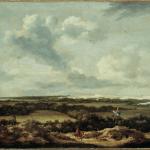 Jacob Isaakz Ruisdael Duinlandschap met konijnenjacht