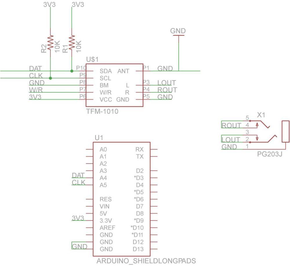 medium resolution of schematic arduino fm radio receiver shield