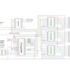 schematic arduino rainbow word clock use arduino for projectsuse word clock schematics schematic arduino rainbow word [ 1024 x 819 Pixel ]