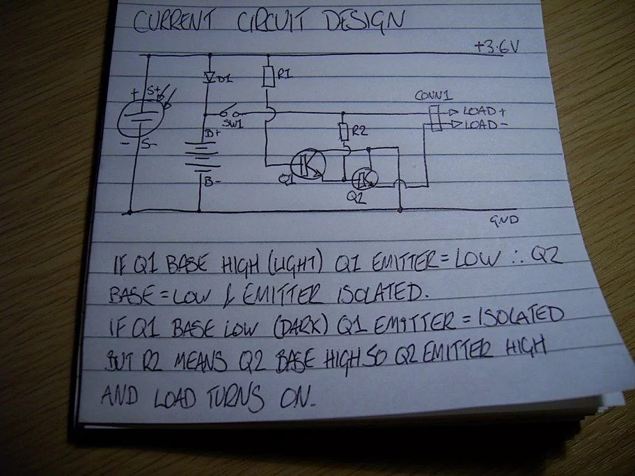 Wiring Diagram For Solar Panel Made Of 2n3055 Transistor Solar Cells