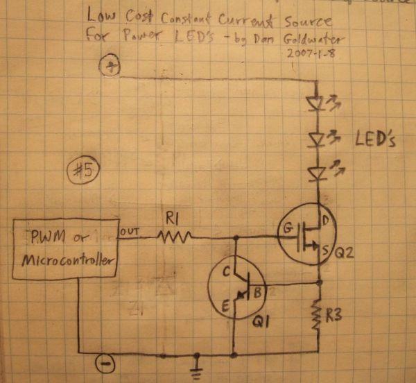 Isl97672a Power Led Driver Circuit Diagram