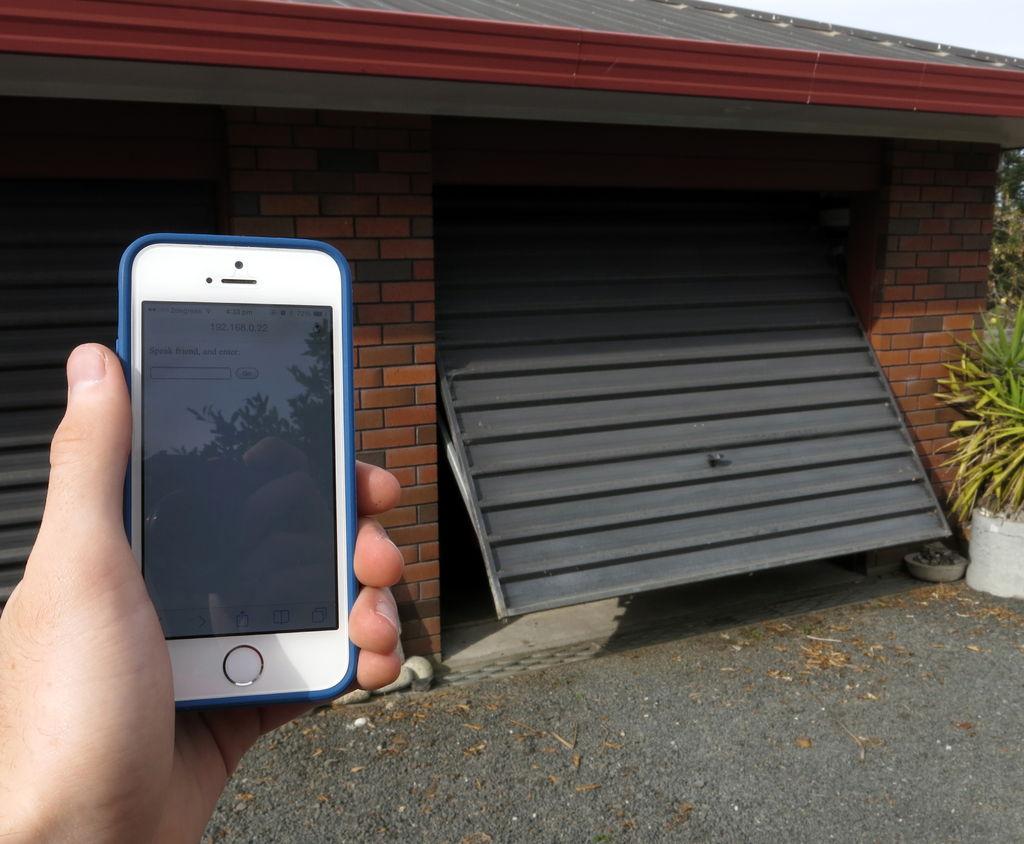 Arduino Wifi Garage Door Opener Use Arduino For Projects