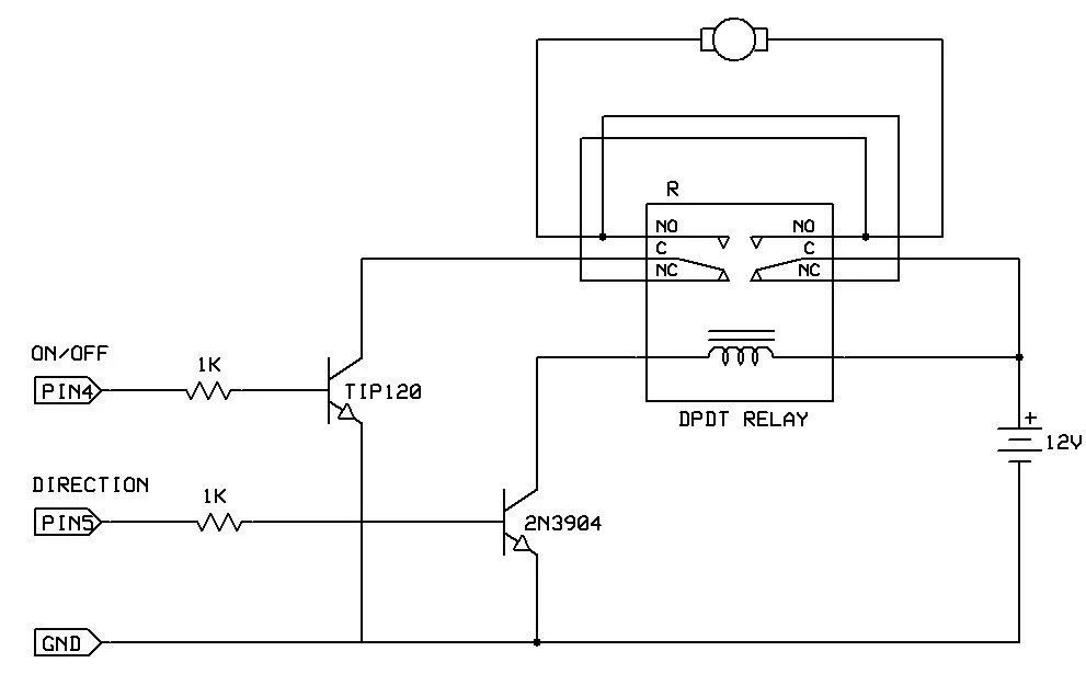 Abb Motor Starters Control Wiring Diagram Bidirectional Motor Control Use Arduino For Projects
