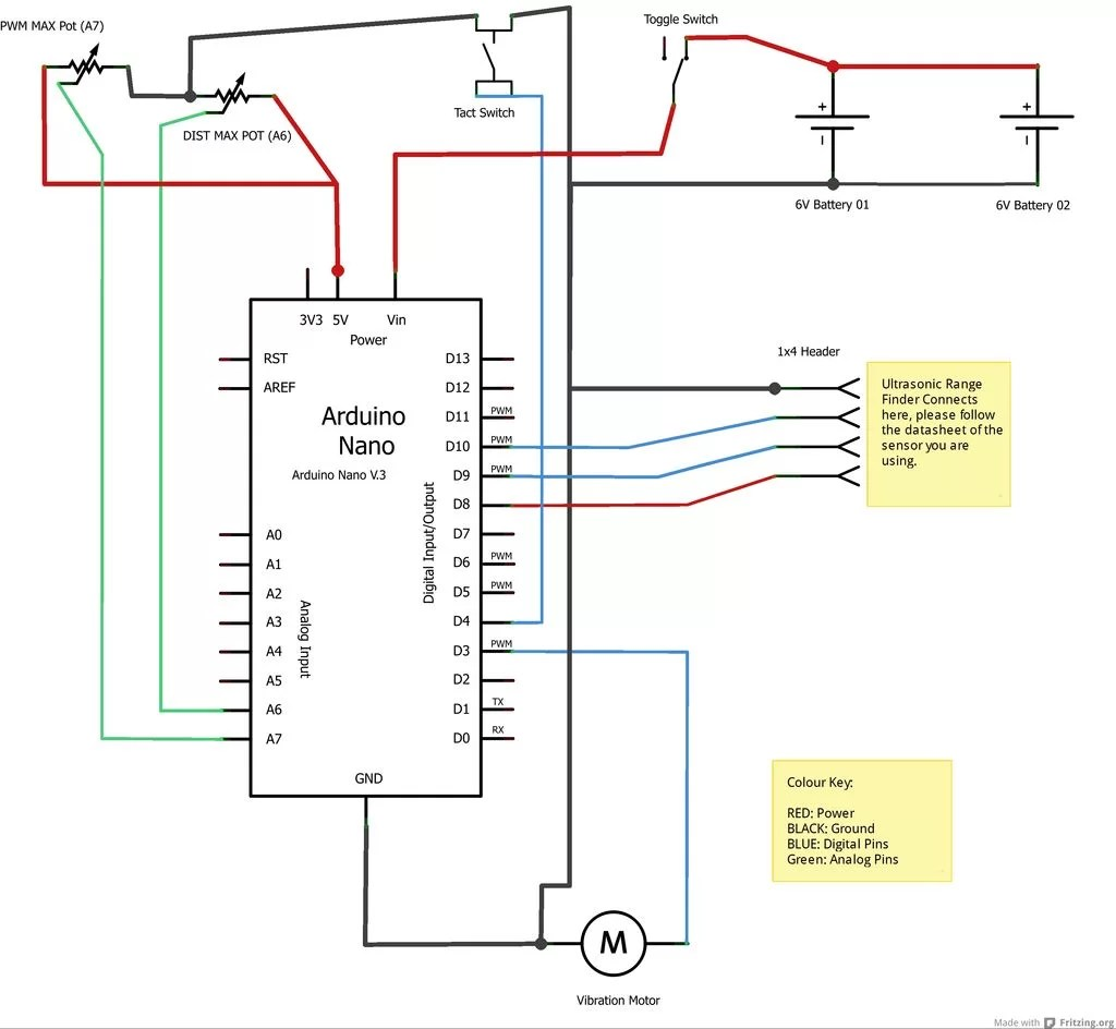 hight resolution of haptic proximity module hpm for low vision users schematic