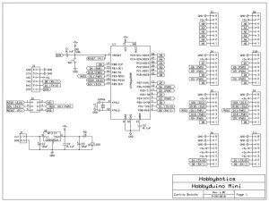 The schematic and PCB was developed with the freely