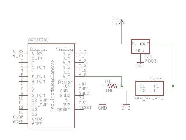 Arduino Breathalyzer Calibrating the MQ-3 Alcohol Sensor