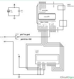 frequency counter using arduino circuit diagram [ 1184 x 1200 Pixel ]