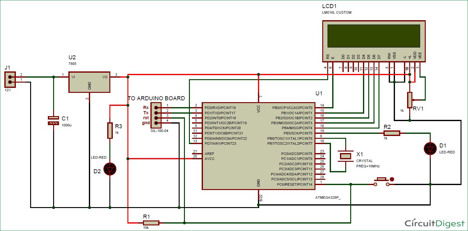 hight resolution of schematic homemade arduino board circuit diagram
