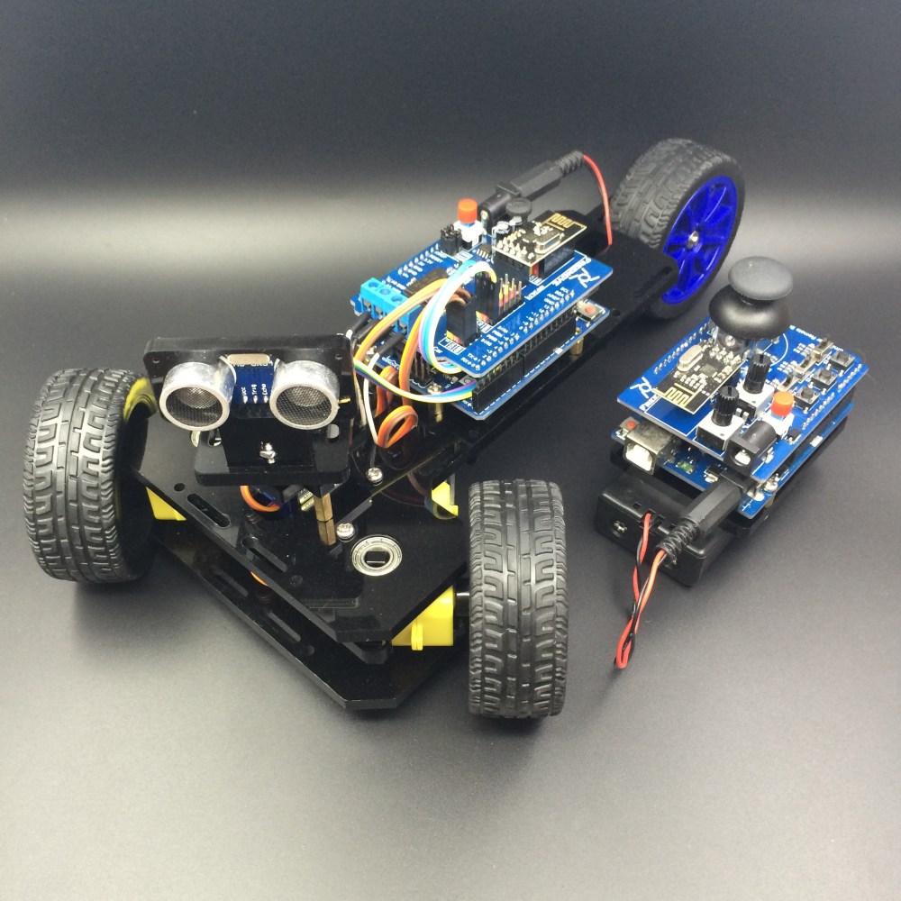 medium resolution of arduino controlled 3 wheeled car duinokit educational electronics learning kits