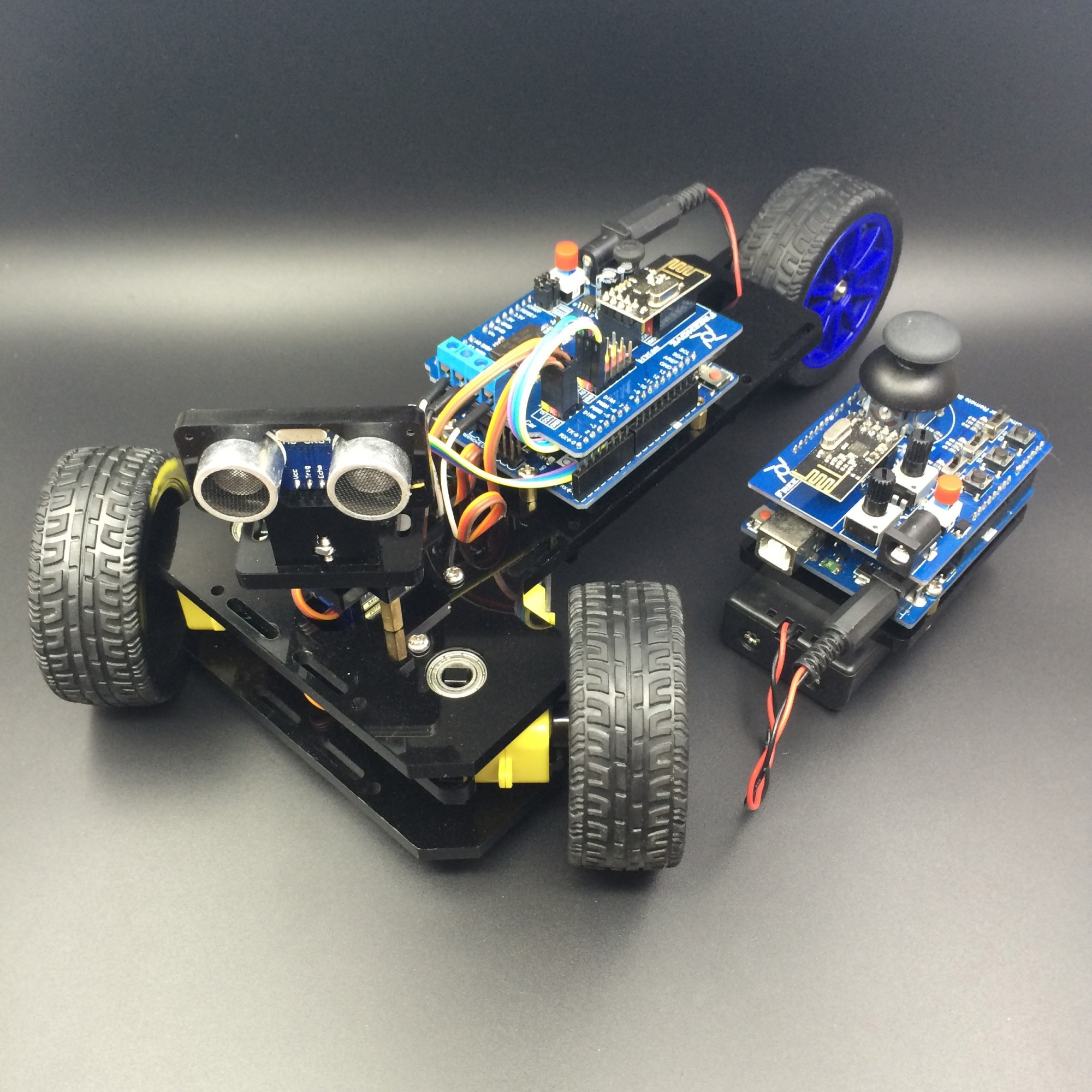 hight resolution of arduino controlled 3 wheeled car duinokit educational electronics learning kits