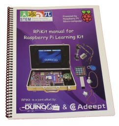 raspberry pi component wiring manual duinokit educational electronics learning kits  [ 972 x 1080 Pixel ]