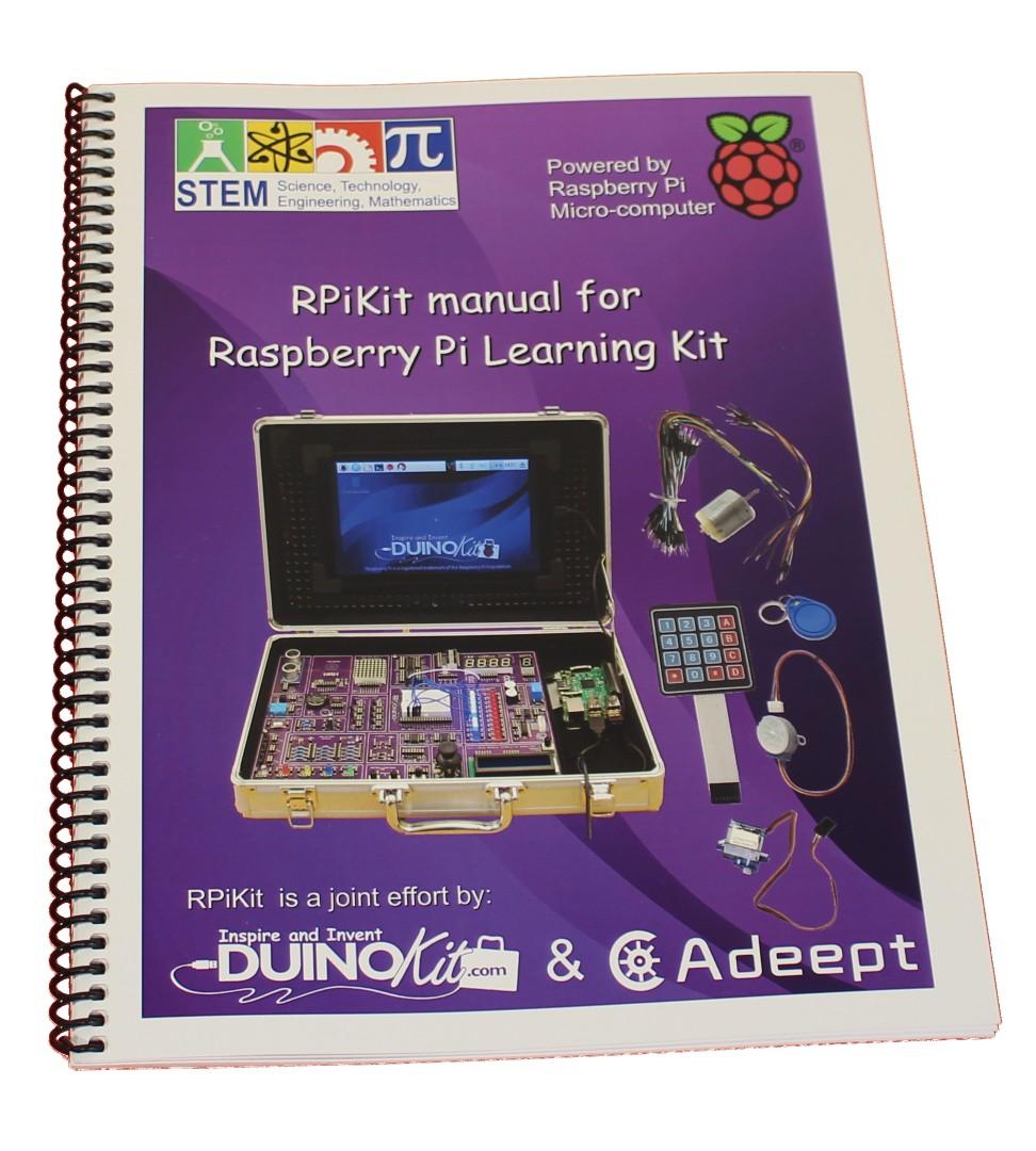 medium resolution of raspberry pi component wiring manual duinokit educational electronics learning kits