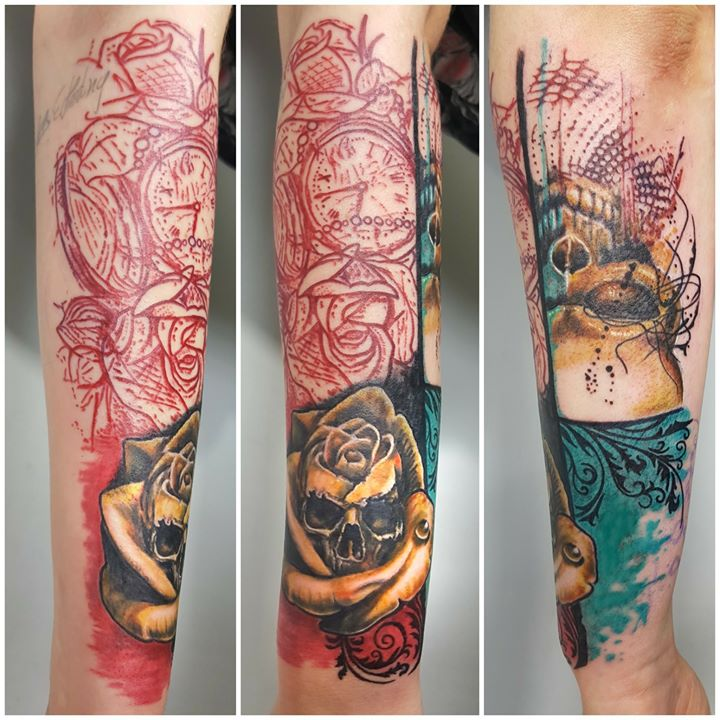 Abstract Tattoo Art Sponsored by Calmed Tattoo & Piercing Supply