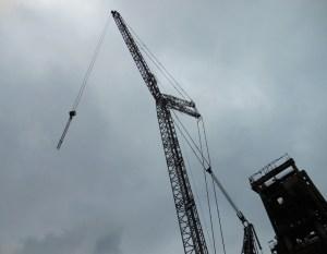 ThyssenKrupp Steel - Rückbau vom Hochofen 4 im Stahlwerk in Duisburg-Hamborn