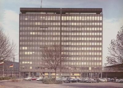 Hochhaus in Hamborn der August Thyssen-Hütte AG, 1965