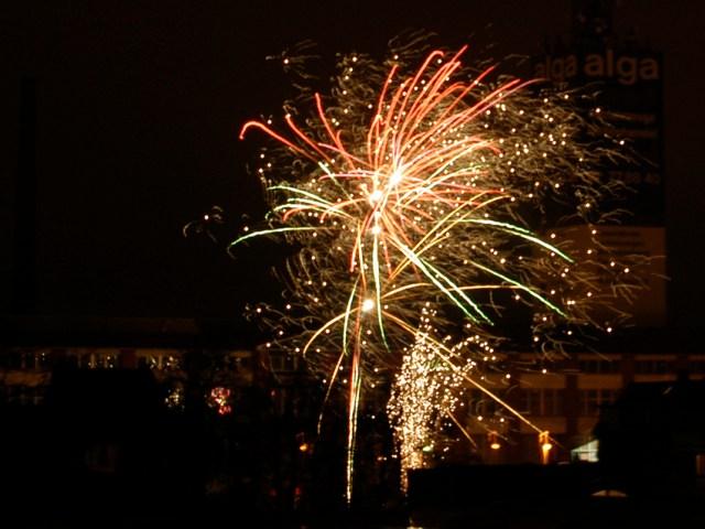 Silvester-/Neujahrsfeuerwerk 2014