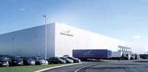 Der neueste Lagerhallenkomplex von Yusen Logistics. Foto: Rolf Köppen/duisport.