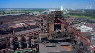 ThyssenKrupp Steel Europe invstiert in Duisburg viel Geld in die Modernisierung seiner Anlagen. Foto: TKSE.