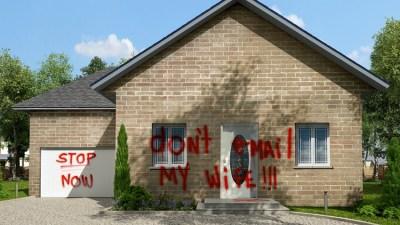 """Das Plakatmotiv """"Don't email my wife !!!"""" zu Neїl Beloufas Installation """"Being Rational"""" hängt zur Zeit überall in Duisburg. © Neїl Beloufa."""