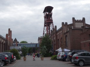 Zeche Rheinpreußen Schacht IV in Moers. Foto: Petra Grünendahl.