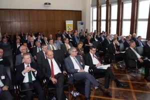 Branchenforum SchifffahrtHafenLogistik: Blick ins Auditorium. Foto: VVWL.