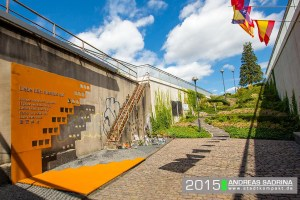 ThyssenKrupp Steel Europe und HKM Hüttenwerke Krupp Mannesmann stiften Stahltafel zum Gedenken an die Opfer der Loveparade 2010. Foto: Andreas Sadrina.