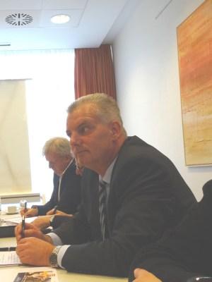 Zufrieden blickte Geschäftsführer Jens Briese beim Jahrespressegespräch auf das, was er bei der Weseler Hafengesellschaft DeltaPort in drei Jahren erreicht hat. Foto: Petra Grünendahl.