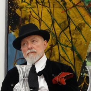 Markus Lüpertz im Museum Küppersmühle. Foto: Petra Grünendahl.