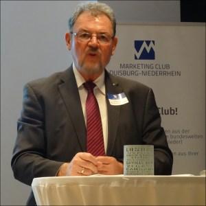Ex-MdB Johannes Pflug, offizieller China-Beauftragter der Stadt Duisburg und Präsident des China-Business-Network. Foto: Petra Grünendahl.