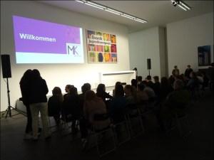 Evonik Jugendkunstpreis 2016: Preisverleihung im MKM Museum Küppersmühle für Moderne Kunst. Foto: Petra Grünendahl.