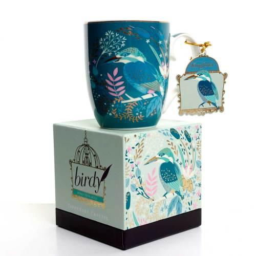 Kingfisher Birdy Mug