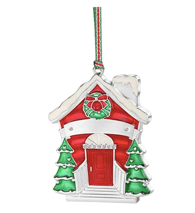 Our Home Red Door Christmas Tree Decoration