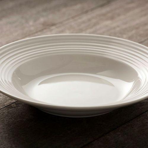 White Pasta Bowls