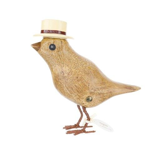 Garden Bird with Hat dcuk
