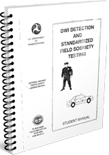 1982 DWI Detection and Field Sobriety Test Student Manual