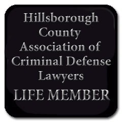 Tampa DUI Lawyer Elliott Wilcox is a LIFE member of the Hillsborough County Association of Criminal Defense Lawyers