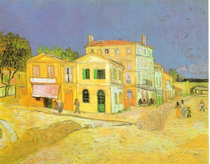 Image result for yellow house by van gogh